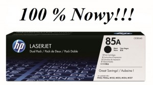 TONER HP 85A CE285A 100% NOWY!