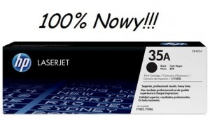 TONER HP 35A CB435A 100% NOWY!