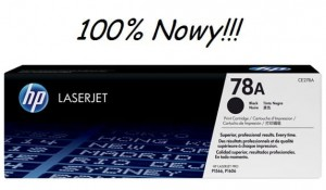 TONER HP 78A CE278A 100% NOWY!