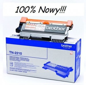 TONER Brother TN 2210 100% NOWY!
